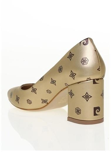 Pierre Cardin Pierre Cardin Altın Topuklu Ayakkabı PC-50176 Altın